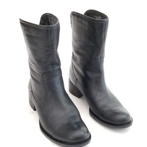 Nine West Leather low boots size 7 M